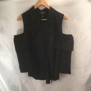 Black Women's Button down
